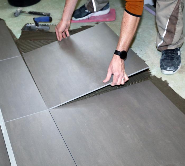 Kayed & Söhne - Bodenverlegung - Bodenplatte verlegen