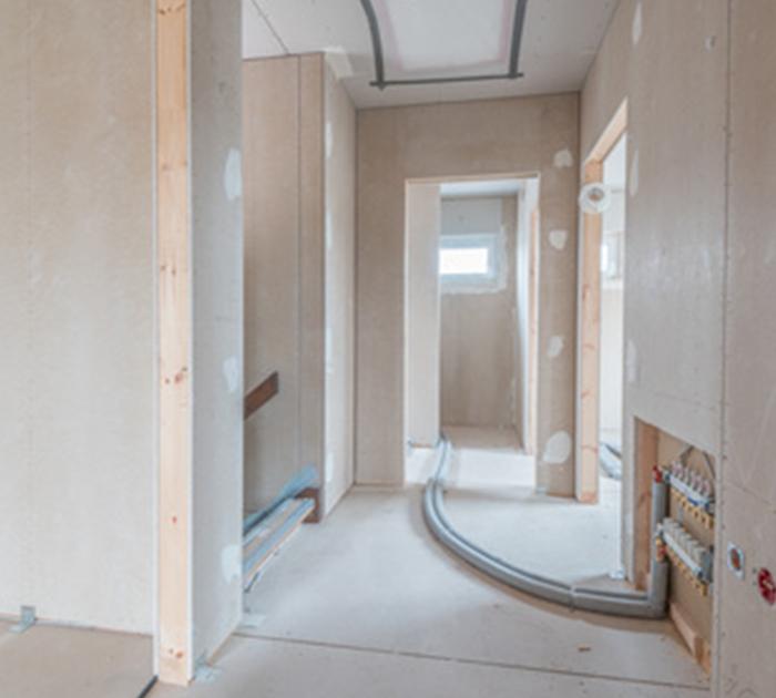 Kayed & Söhne - Trockenbau - Wände während Renovierung