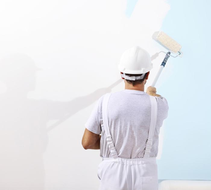 Kayed & Söhne - Malermeisterbetrieb - Maler bei der Arbeit