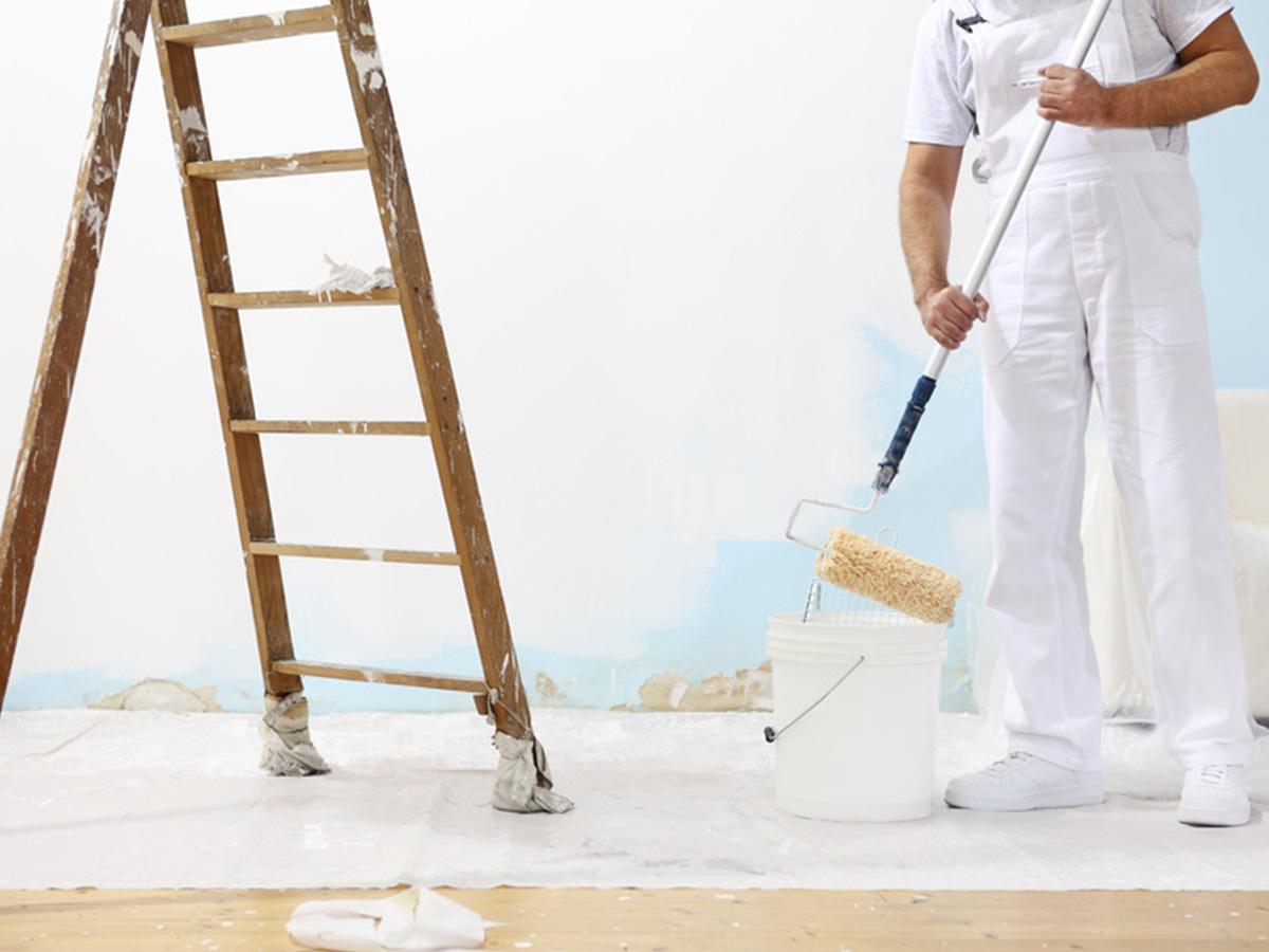 Kayed & Söhne GmbH Malermeisterbetrieb - Maler bei der Arbeit